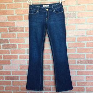 DL1961 Cindy Petite Boot dark wash 26 (M75)
